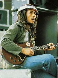 guitare acoustique bob marley