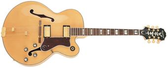 Une guitare de Jazz