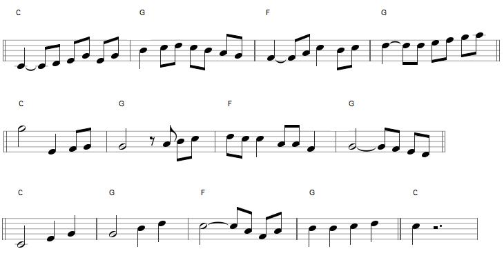 Relevé d'improvisation (violon)