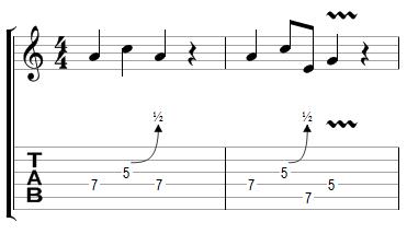Phrase Blues avec effets (1)
