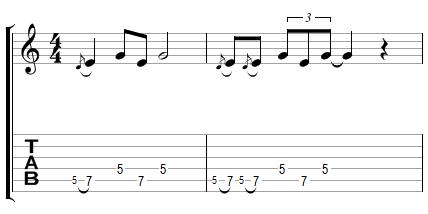 Phrase Blues avec effets (2)