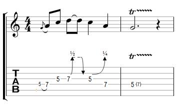 Phrase Blues avec effets (3)