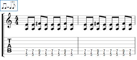 Rythmique Blues (2)