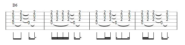 Variations sur une rythmique bossa