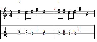 Mélodie harmonisée à la tierce inférieure