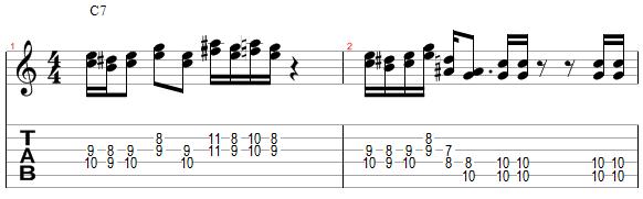 Mélodie harmonisée différement à la tierce inférieure