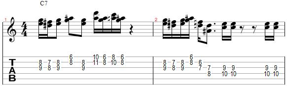 Mélodie harmonisée à la tierce supérieure