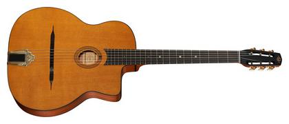 Une guitare manouche (petite bouche)
