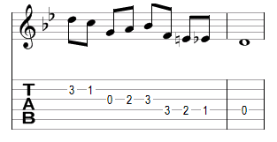 Mélodie 11 - réponse