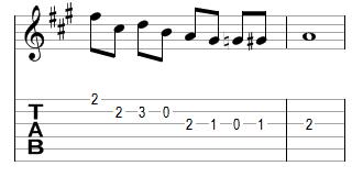 Mélodie 13 - réponse