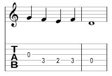 Mélodie 2 - réponse
