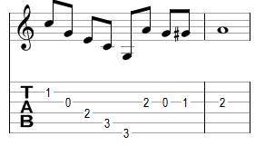 Mélodie 8 - réponse