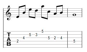 Mélodie 7 - réponse