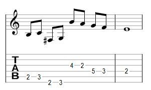 Mélodie 9 - réponse